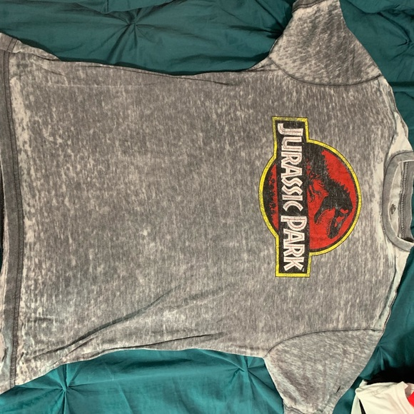 Universal Other - Jurassic Park Washed Tee Sz L